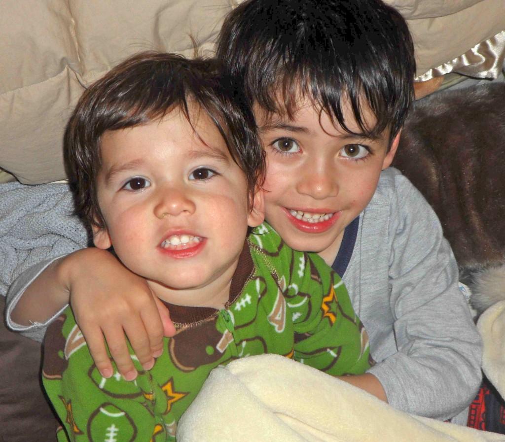 Nephews - Nico and Devon