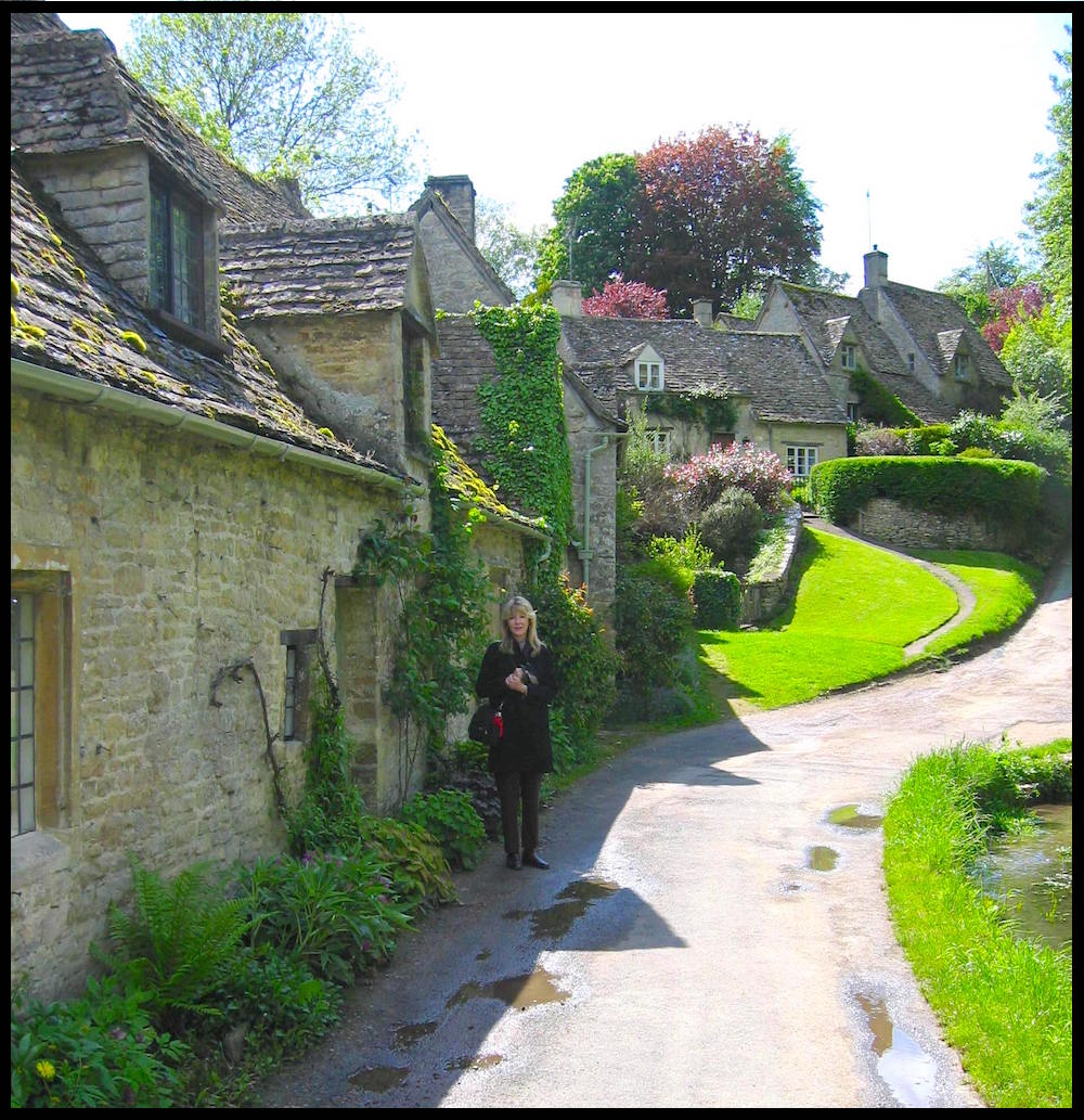 Bibury Cottages and Pamela Frost Dennis